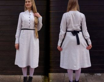 KLAVIR. Linen dress -       Edit Listing   - Etsy