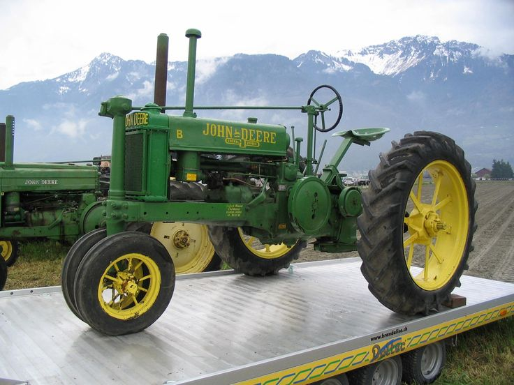 List of John Deere tractors - Wikipedia, the free encyclopedia