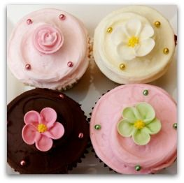 TONS of easy cupcake recipes - including red velvet, carrot cake, strawberry, and more. Plus great frosting receipes too!
