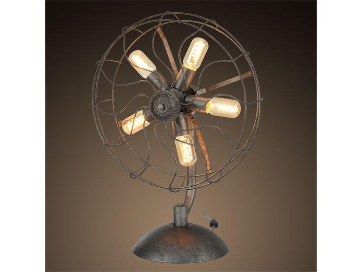 Lámpara de Mesa.. tipo ventilador