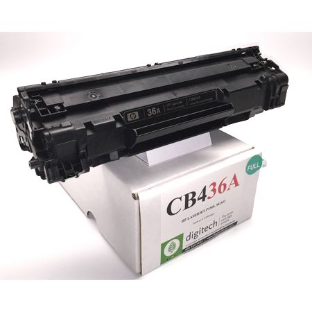 HP CB436A Black Sustainable toner cartridge for the following HP printers:  HP P1505, P1505n, M1522n, M1522nf  Yield: 2,000 pages  TW-CB436A