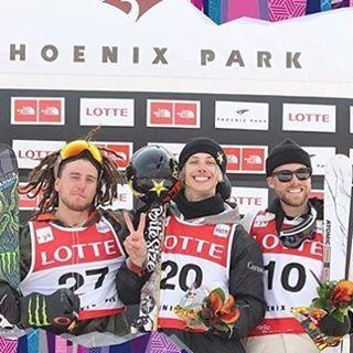 Félicitations à Alex Bellemare qui remporte l'or à la coupe du monde de slopestyle de PyeongChang en Corée!!! / Congrats to our friend Alex Bellemare who slaughtered the slopestyle course in PyeongChang, bringing back the gold!!!
