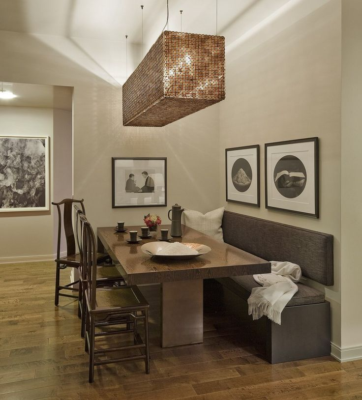 17 Best Ideas About Dining Table With Bench On Pinterest
