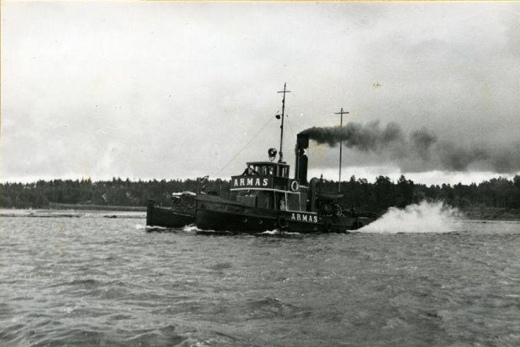 Höyrylaiva Armas Saimaalla #laivat #höyrylaivat #steamboat #Saimaa #Enso-Gutzeit #Armas