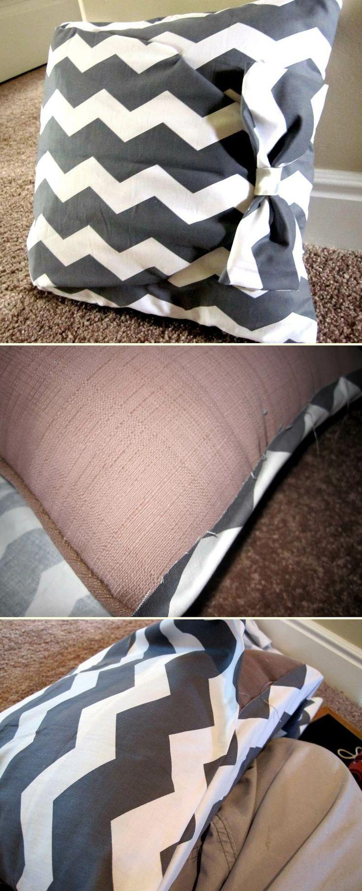 No sew pillow | DIY Stuff