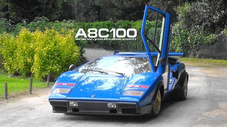 Valentino Balboni drives Lamborghini Countach Walter Wolf LP400 (1 of 3)...