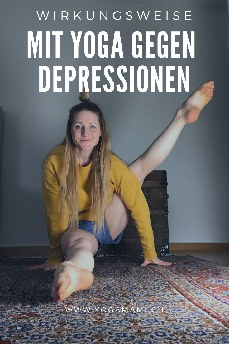 Pin auf Yoga & Gedanken zu Depressionen
