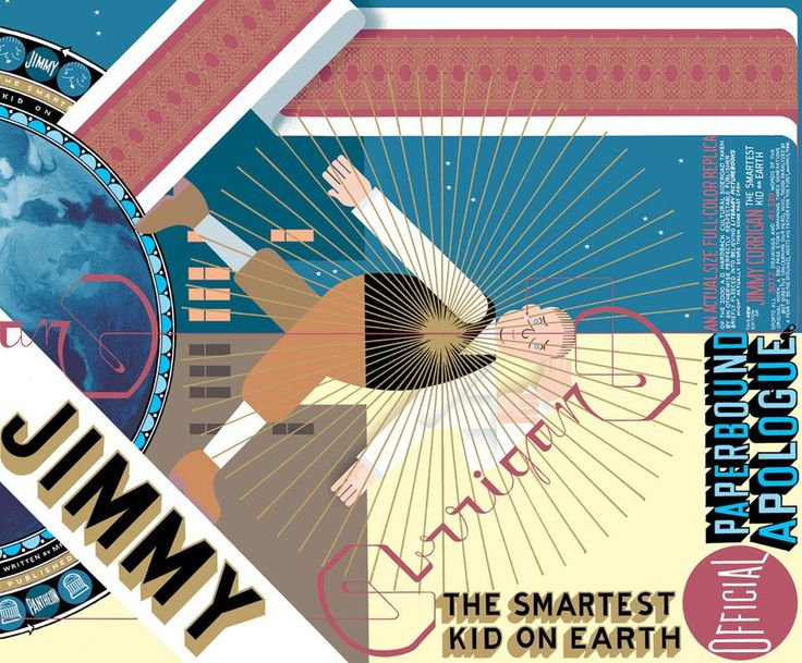 Chris Ware, Jimmy Corrigan. The smartest kid on earth