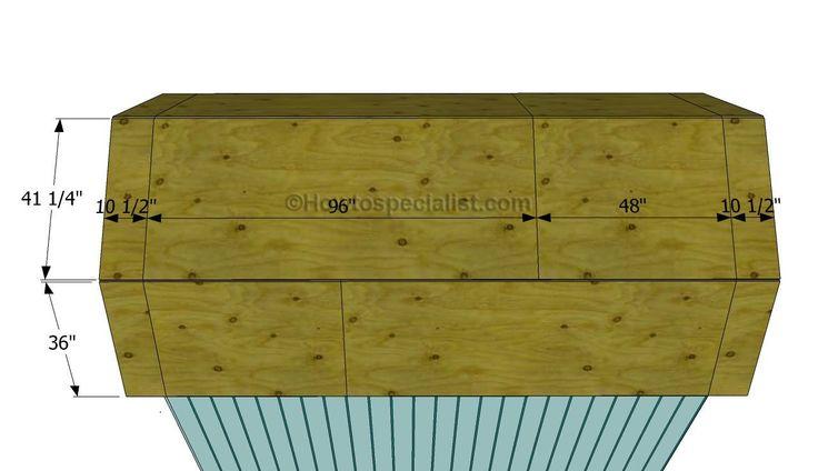 Installation des tôles de toiture