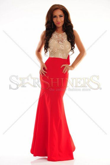 LaDonna Wealthy Life Red Dress