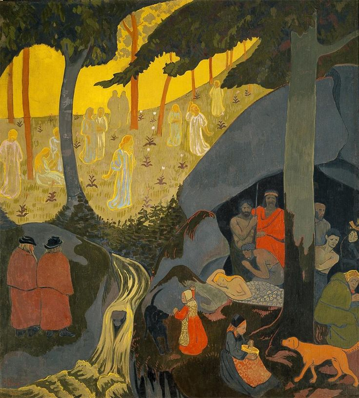 Celtic Tale, 1894 / Paul Serusier