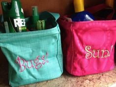 Organized camping- love Thirty One!!