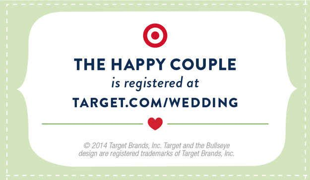 Target Wedding Gift: 13 Cool Crafts To Make Your Wedding Unique