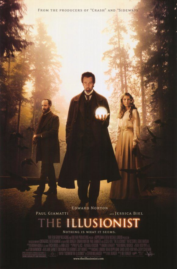 The Illusionist 11x17 Movie Poster (2006)
