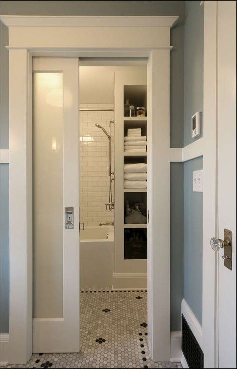 Pocket Doors For Small Bathrooms There Are Different Shower And