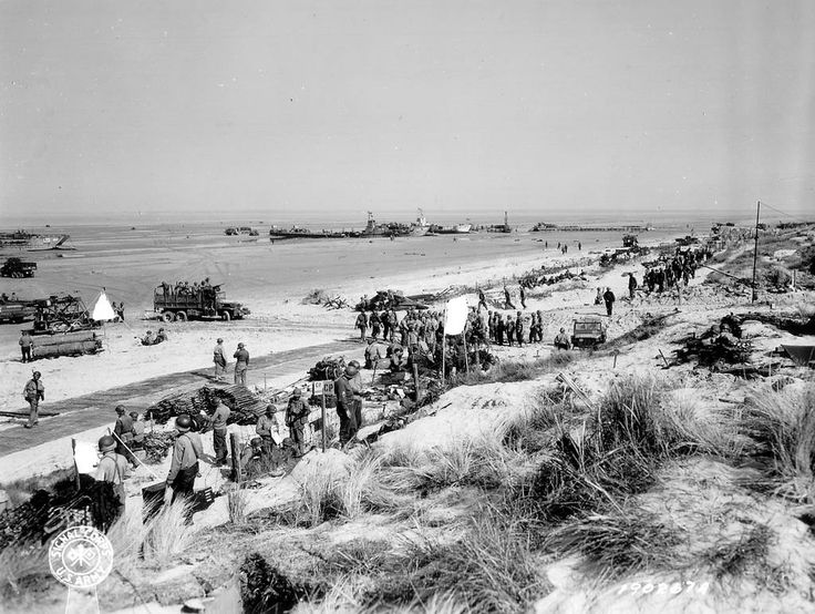 d day landing beaches names