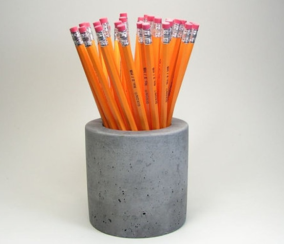 78 ideas about pencil holders on pinterest diy dorm Diy pencil holder for desk