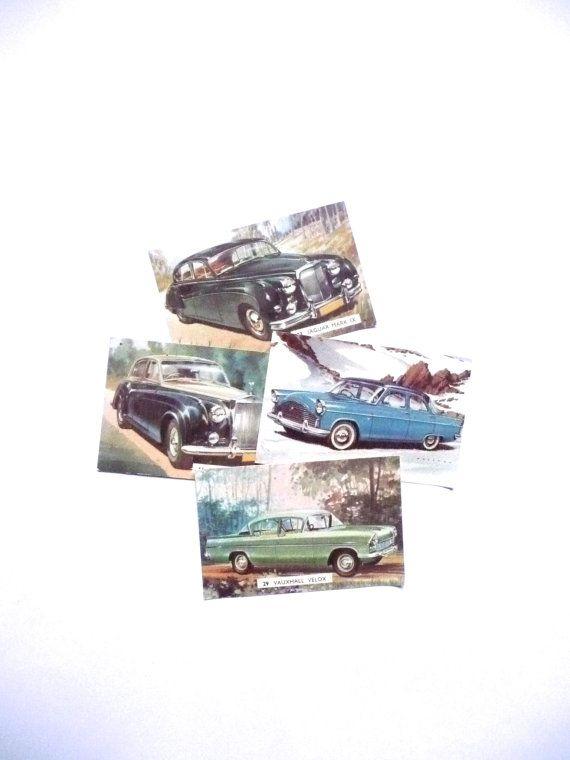 Vintage Swap Cards Sanitarium Cavalcade of Cars Card