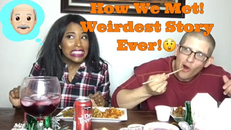 HOW WE MET! Mukbang!Chinese Take Out Food🍜|interracial family vlogs