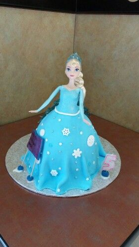 Paiges 5th birthday cake