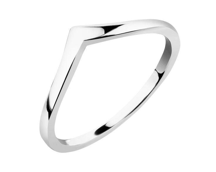 Pierścionek srebrny - wzór AP124-6803 / Apart