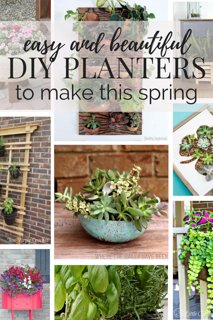 The big list of self watering planters for stylish gardening anywhere - Diy Gardening Planter Ideas