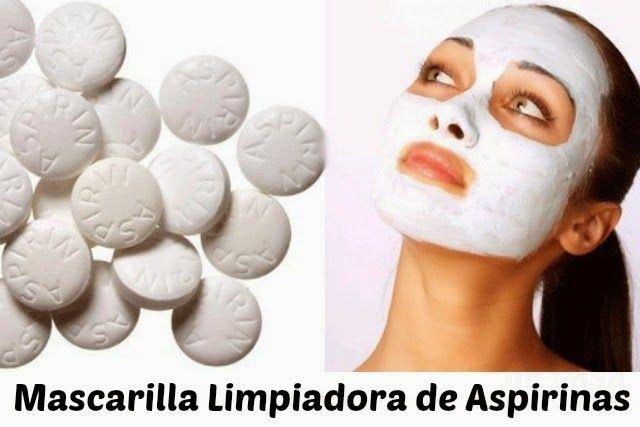 Es común que se utilice la Aspirina para el limpiado, blanqueado y para quitar los puntos negros que deja el acné. Otra forma de utilizada es para tratamientos anti-arrugas lo que convierte a la Aspirina en uno de los remedios más buscados para realizar tratamientos de belleza. Contiene el conocido ácido salicílico que es el componente que nosotros necesitamos para los tratamientos de belleza y