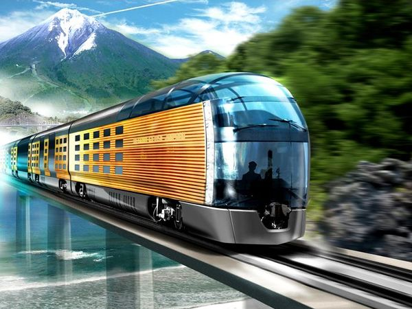 Tour the Japanese countryside in a luxury sleeper train by 2016 #japan #train #tour