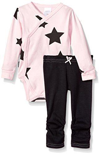 5a7e5116c163 Best Seller Blue Banana Baby Girls Wrap Bodysuit Pants Set