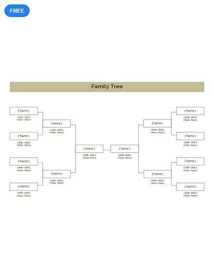 simple family tree diagram