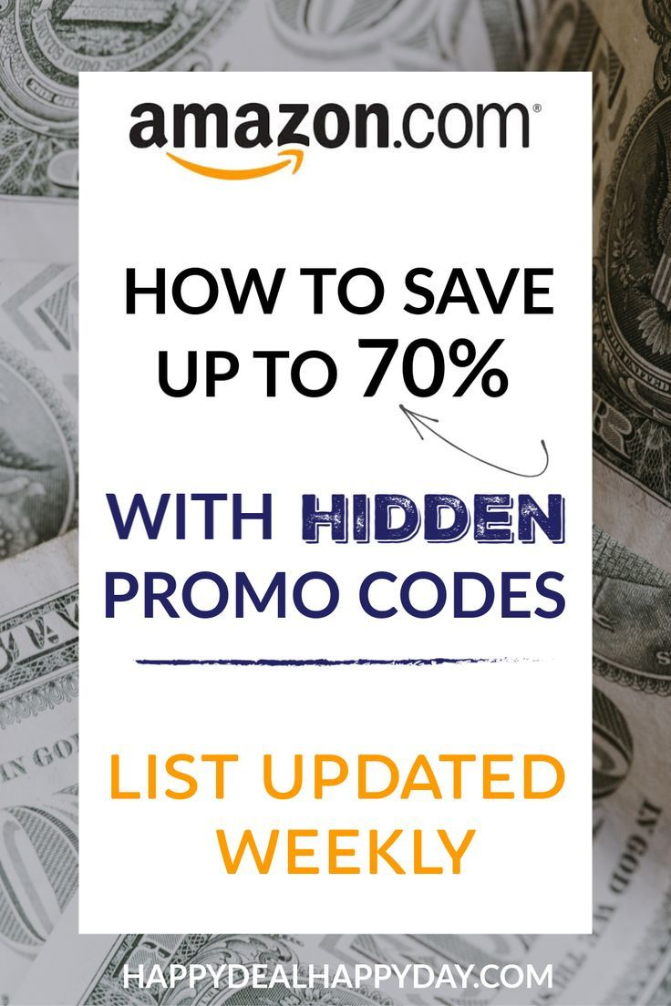 Amazon Promo Code Deals List 2020 47 Hard To Find 40 70 Off