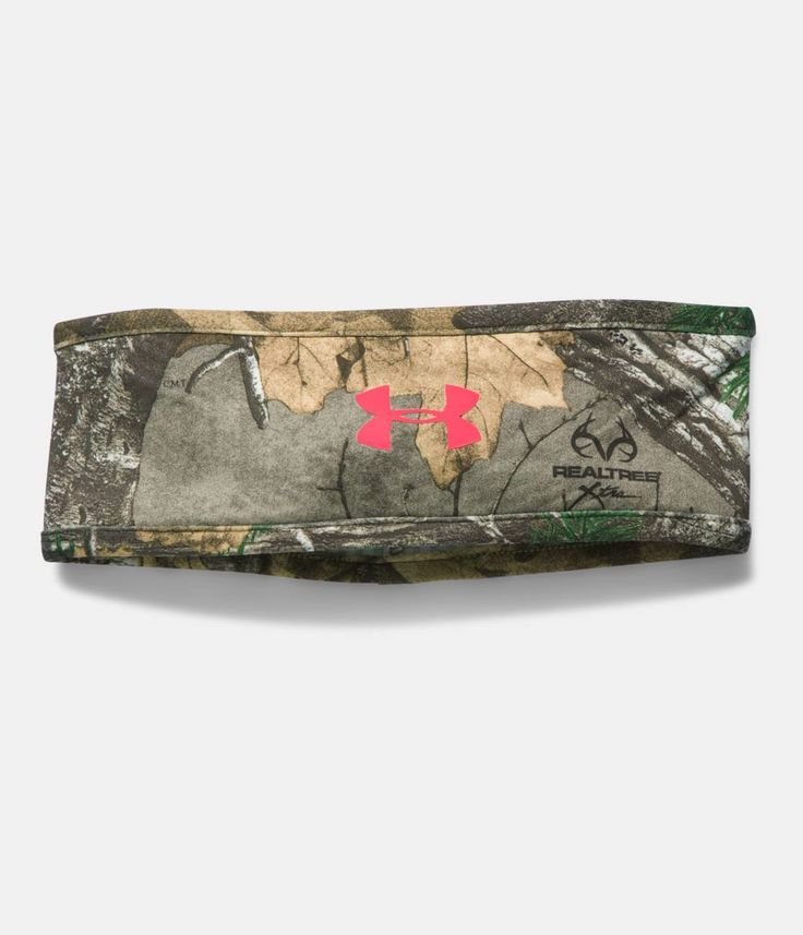 Women's UA Camo ColdGear® Infrared Band, REALTREE AP-XTRA