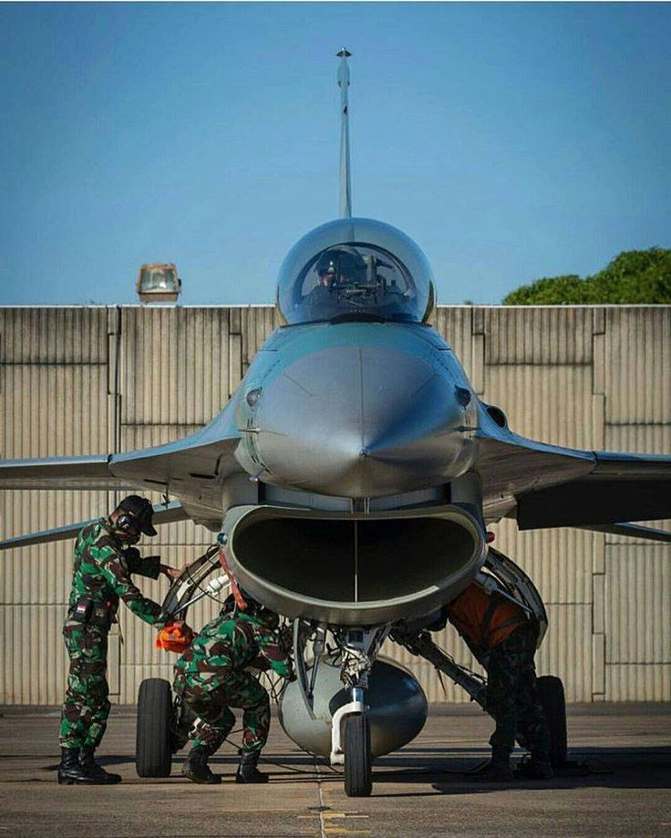 Pesawat F-16 TNI AU di Pitch Black 2016