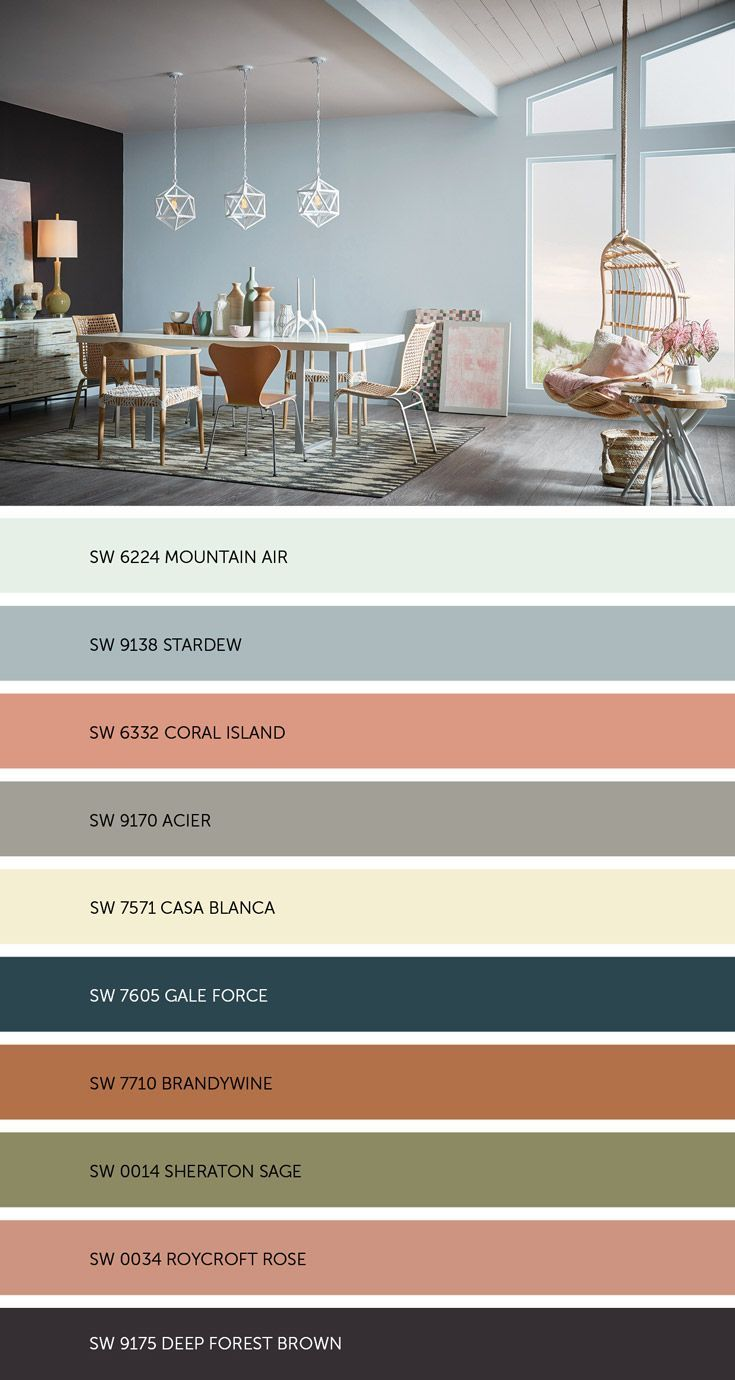 277 best color schemes 2017 2018 images on pinterest - 2017 pantone view home interiors palettes ...
