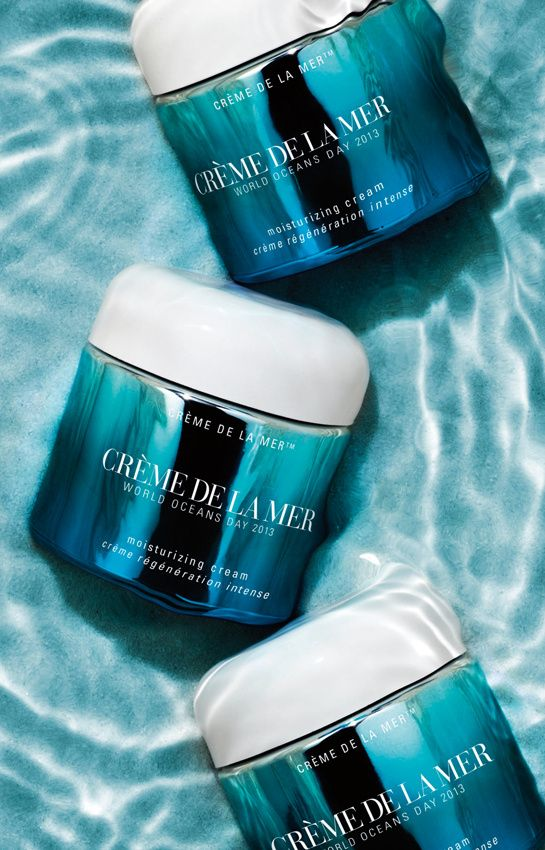 Le collector ocean-friendly de Crème de la Mer http://www.vogue.fr/beaute/buzz-du-jour/diaporama/creme-de-la-mer-regeneration-intense/13236#2
