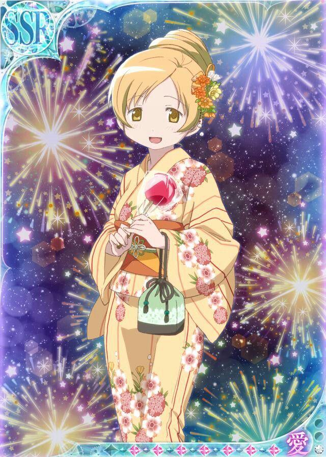 Tomoe Mami Fireworks FestivalAnime
