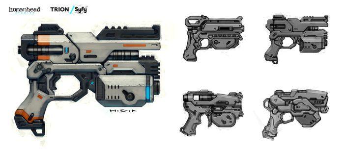 FA Alien Pistol by chrislazzer