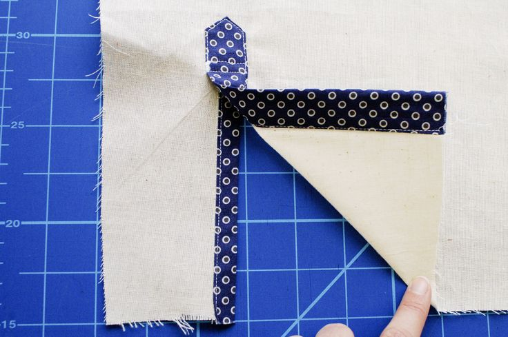 The sleeve placket on the Granville Shirt looks complicated, but it's easier than it looks! How to sew a tailored shirt placket on a dress shirt.