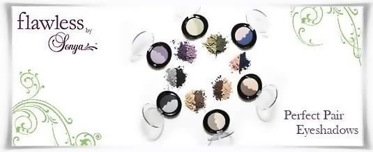 Perfect Pair Eyeshadows - Διπλές Σκιές Ματιών | Flawless By Sonya της Forever Living Products. Αγοράστε τις online, πληρώστε με αντικαταβολή. #FlawlessBySonya #MakeUp #Cosmetics #AloeVera #ForeverLivingProducts