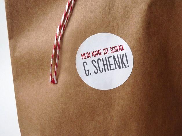Weihnachts Sticker Für Die Gechenke // Christmas Sticker Fpr Gifts By  Frieda Werkstattladen
