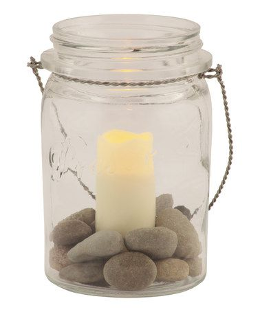 Another great find on #zulily! Marmalade Jar Flameless Votive Holder Set by Pacific Accents #zulilyfinds | See more about Votive Holder, Jars and Love.
