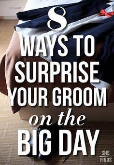Surprise Wedding Gift For Groom : Ways to surprise your groom! 1St birthday ideas Pinterest Cars ...