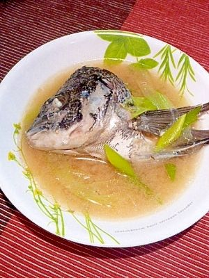 漁師汁レシピ・作り方の人気順|簡単料理の楽天レシピ 鯛の兜で味噌汁