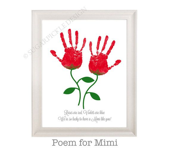 Gift for Mimi Printable 8.5 x 11 INSTANT DOWNLOAD Mothers gift from the grandkids  Purchase this adorable gift for Mimi Printable, print it
