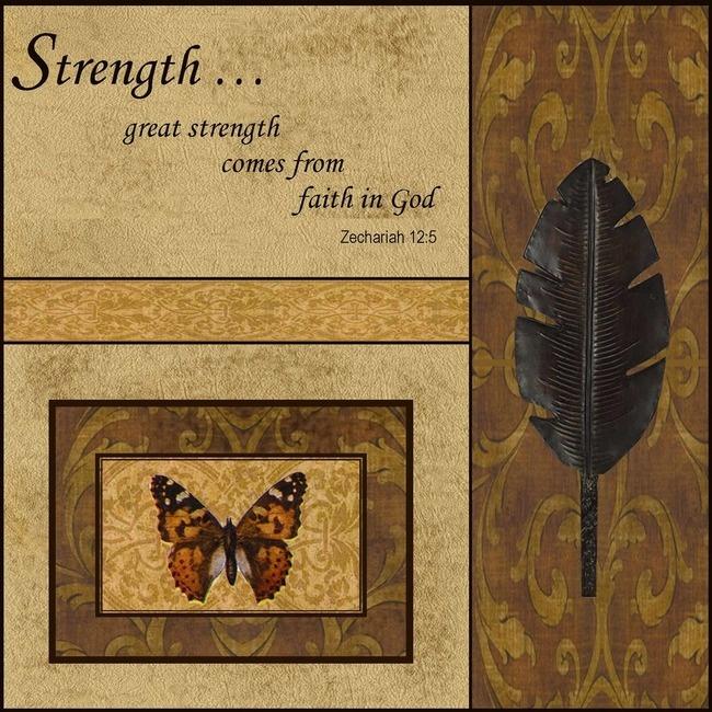 Strength  by Lydia Lane-BoggusWall Art, I Jolly Art, Strength Wall, Lydia Laneboggus, Ijolli Art, Awesome Wall
