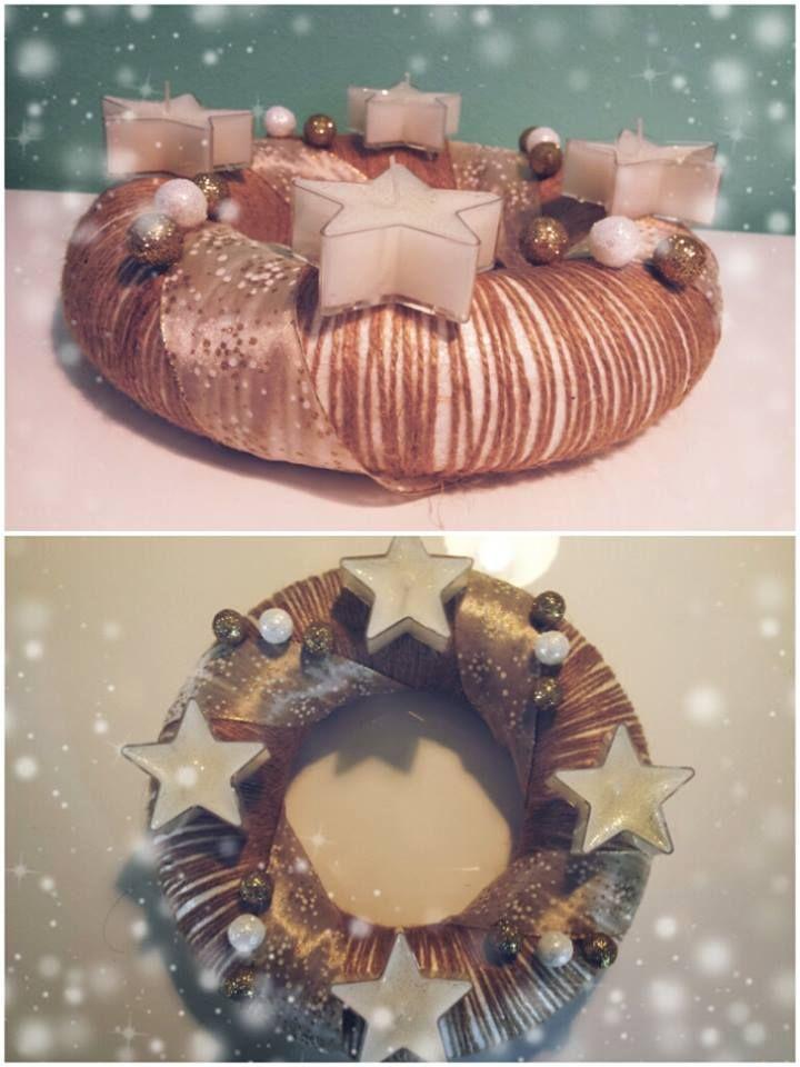 """Adventní věnec """"Hvězda"""" (Advent wreath """"Star"""")"""