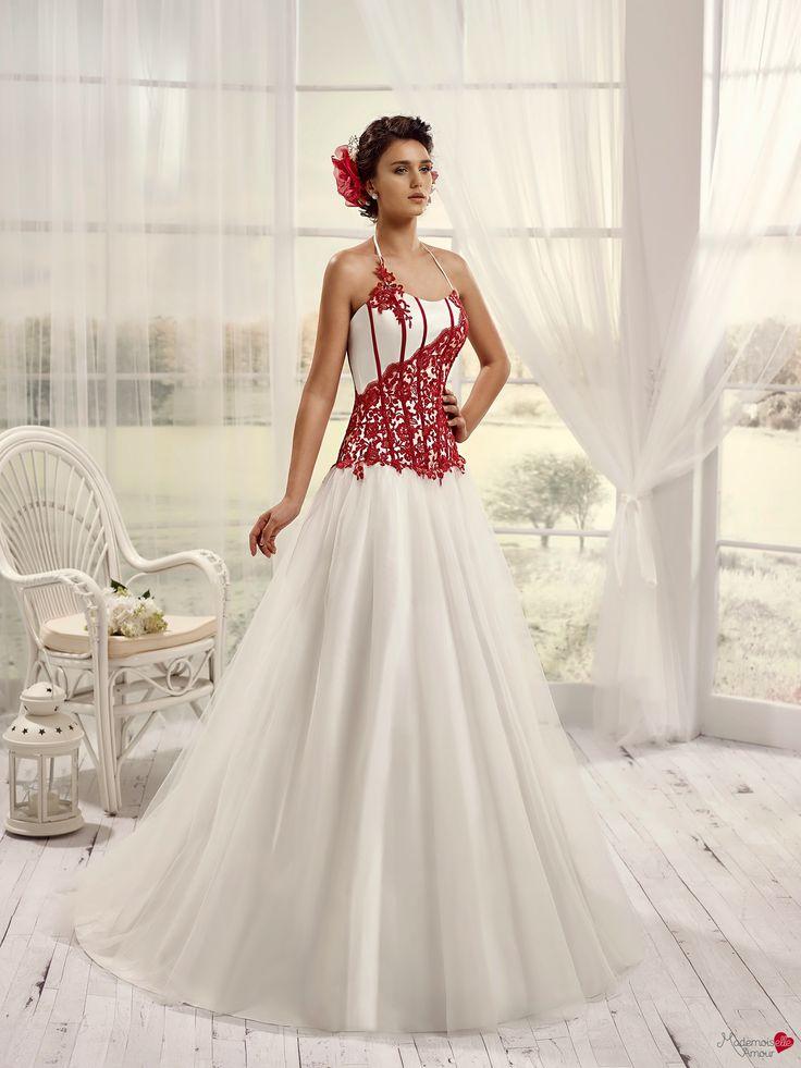 Robes de mariée Mademoiselle Amour, modèle Mlle Vichy http://www ...