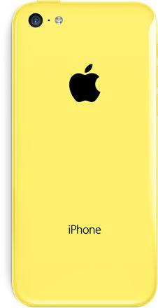 Strekt ønske: Iphone 5C - gul 32 GB