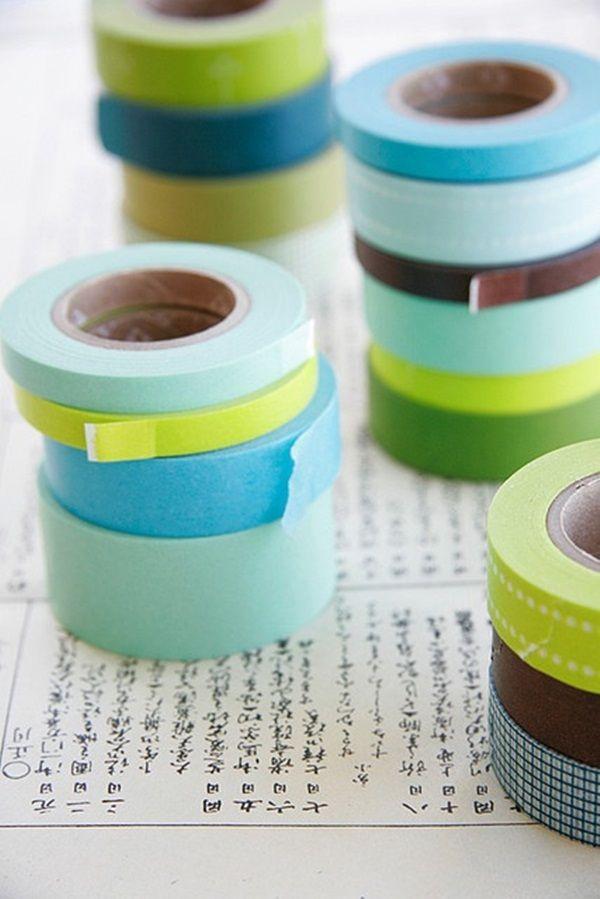 My Washi Tape: COLORI ESTIVI