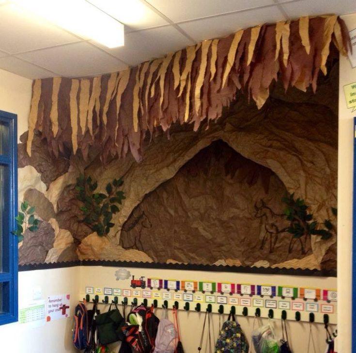 Cavemen Prehistoric Classroom Display